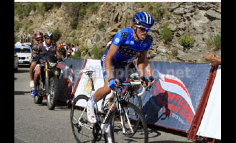 SAN LUIS  Contador conquista il Mirador del Sol